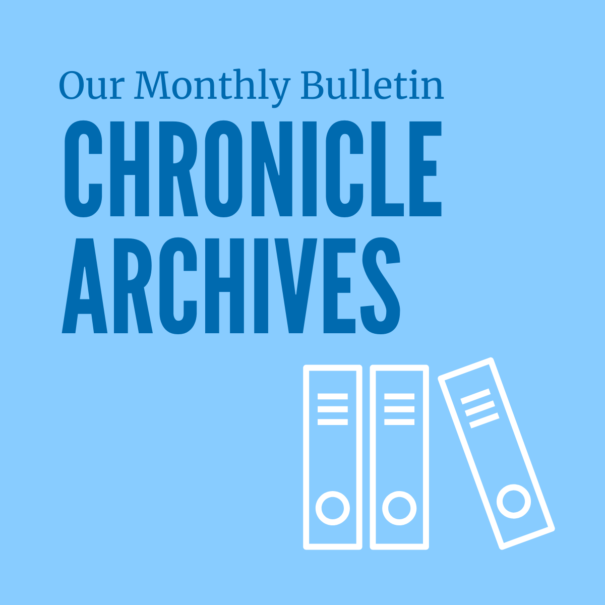 Chronicle Archives